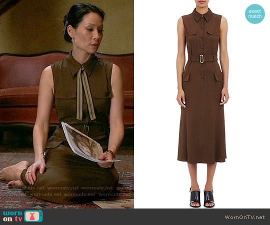 ALC Hayden Dress worn by Lucy Liu on Elementary