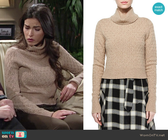 ALC Jeannie Sweater worn by Sofia Pernas on The Young & the Restless