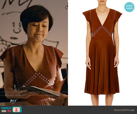 ALC Mara Dress worn by Yunjin Kim on Mistresses