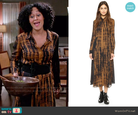 ALC Maxwell Dress worn by Tracee Ellis Ross on Blackish