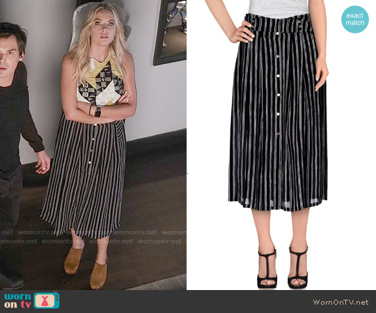 ALC McDermott Skirt worn by Hanna Marin on PLL