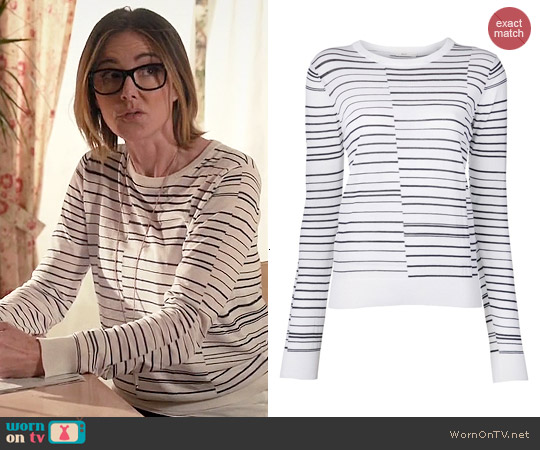 ALC Montana Sweater worn by Christa Miller on Cougar Town