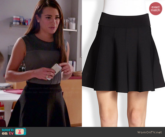 ALC Piper Skirt worn by Rachel Berry on Glee