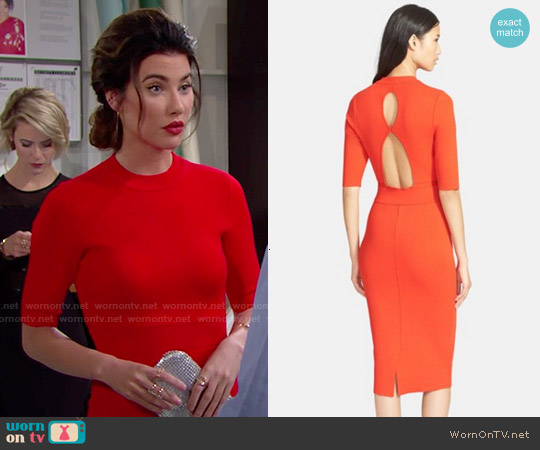 ALC Scoppa Dress worn by Jacqueline MacInnes Wood on The Bold & the Beautiful