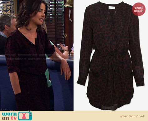 A.L.C. Simona Dress worn by Cobie Smulders on HIMYM