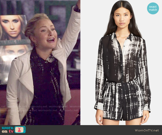 ALC Song Blouse worn by Hayden Panettiere on Nashville