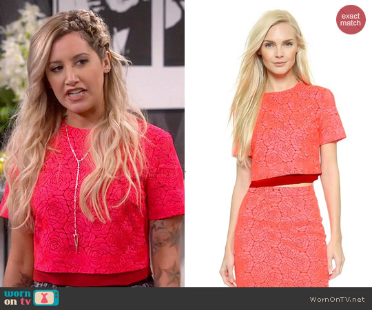 ALC Thompson Top worn by Ashley Tisdale on Young & Hungry