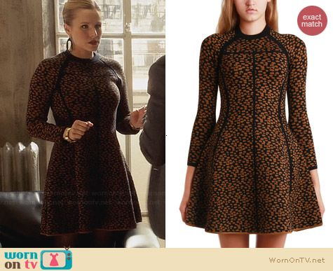 A.L.C. Wells Dress worn by Kristen Bell on House of Lies