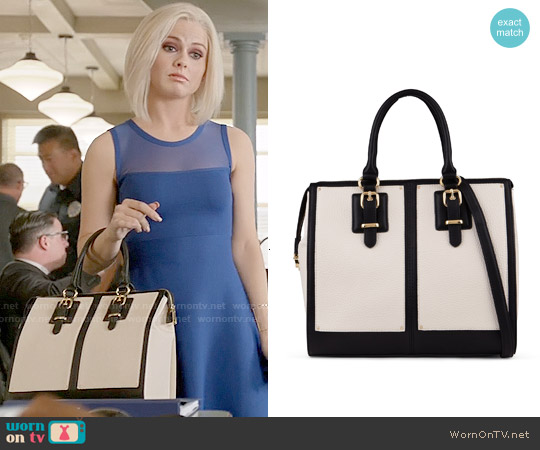 Aldo Imaal Bag in White / Black worn by Liv Moore on iZombie