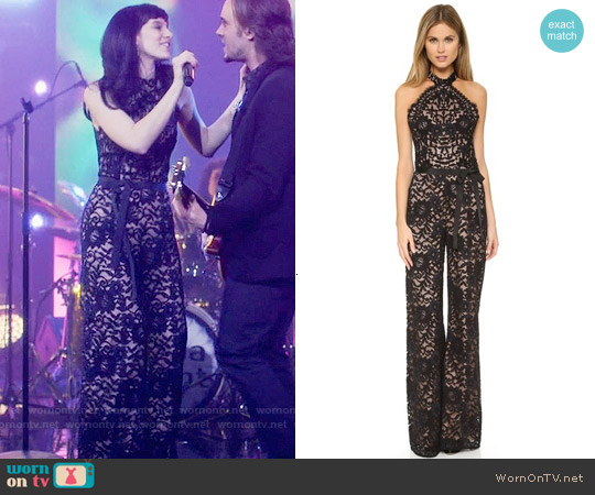 Alexis Rene Jumpsuit worn by Aubrey Peeples on Nashville