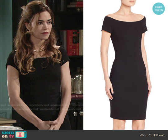 Alice & Olivia Aleah Dress worn by Amelia Heinle on The Young & the Restless