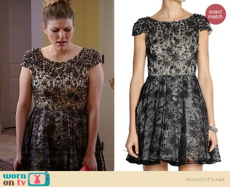 Alice & Olivia Aubree Dress worn by Molly Tarlov on Awkward