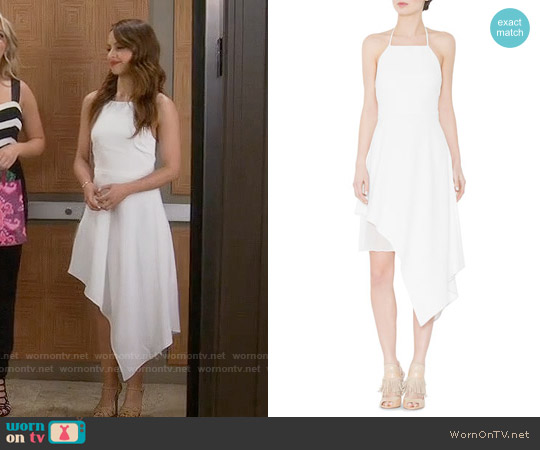 Alice & Olivia Bennie Dress worn by Aimee Carrero on Young & Hungry