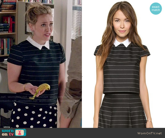 Alice & Olivia Blake Top worn by Hilary Duff on Younger