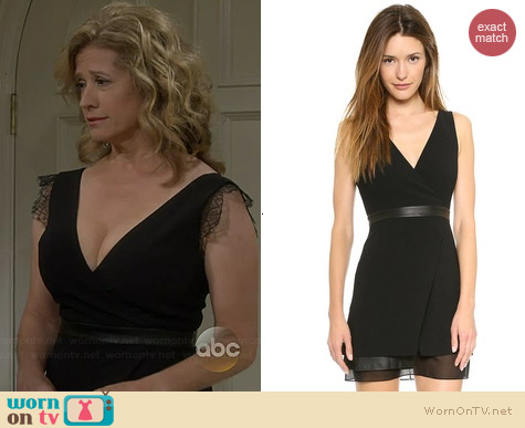 Alice + Olivia Brice Dress worn by Nancy Travis on Last Man Standing