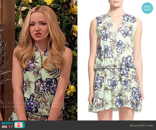 Alice & Olivia Brook Dress worn by Dove Cameron on Liv & Maddie