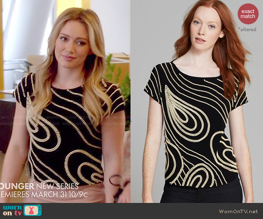 worn by Kelsey Peters (Hilary Duff) on Younger