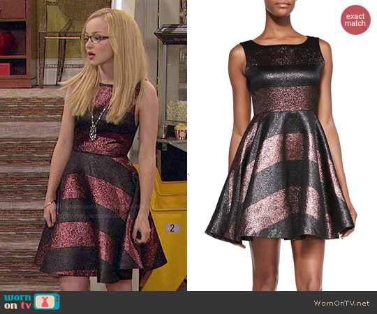 Alice + Olivia Foss Dress worn by Maddie Rooney on Liv & Maddie