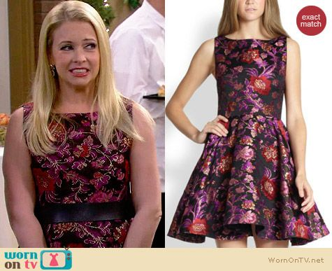 Alice & Olivia Foss Dress worn by Melissa Joan Hart on Melissa & Joey
