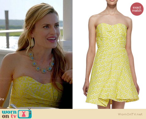 Alice & Olivia Grove Dress worn by Brooke D'Orsay on Royal Pains