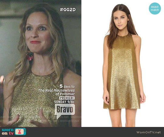 Alice & Olivia Harrison Dress worn by Beau Garrett on GG2D