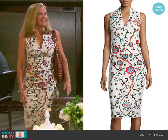 Alice & Olivia Jackie Dress worn by Kassie DePaiva on Days of our Lives