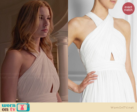 Alice + Olivia Jaelyn Gown worn by Emily VanCamp on Revenge