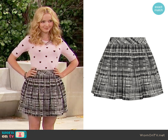 Alice & Olivia Kayla Skirt worn by Liv Rooney on Liv & Maddie