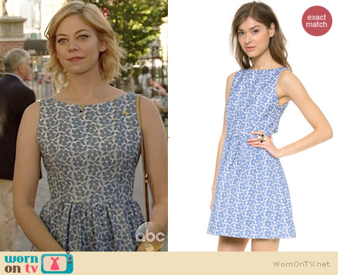 Alice & Olivia Lilyanne Dress worn by Analeigh Tipton on Manhattan Love Story