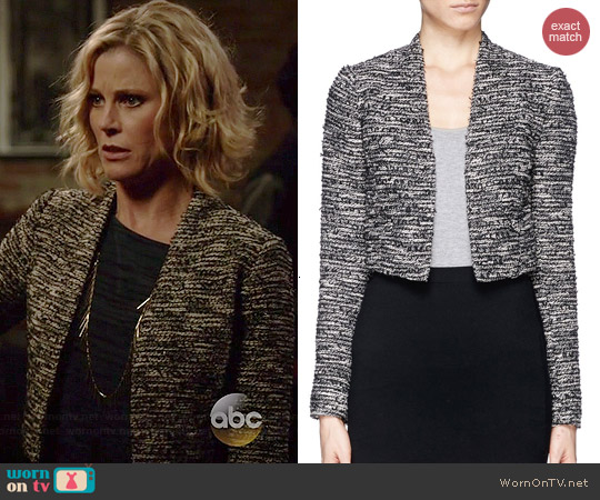 Alice & Olivia Madine Jacket worn by Julie Bowen on Modern Family