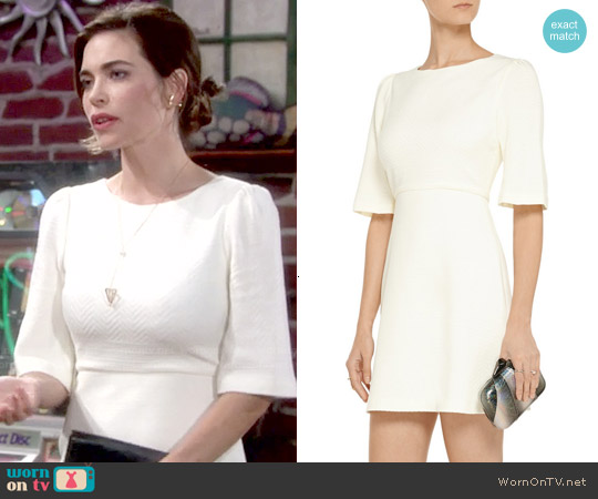 Alice & Olivia Maely Dress worn by Amelia Heinle on The Young & the Restless