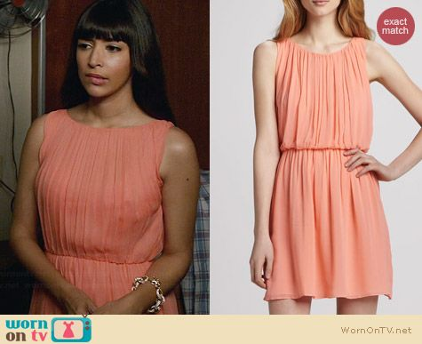 Alice & Olivia Mary Dress worn by Hannah Simone on New Girl