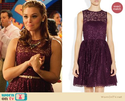 Alice & Olivia Ophelia Dress worn by Kaitlyn Black on Hart of Dixie