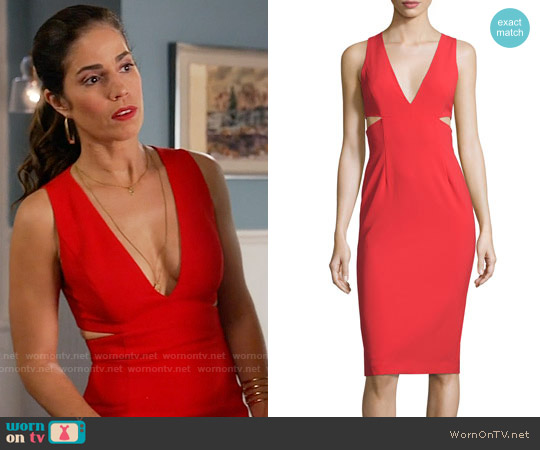Alice & Olivia Riki Dress worn by Ana Ortiz on Devious Maids
