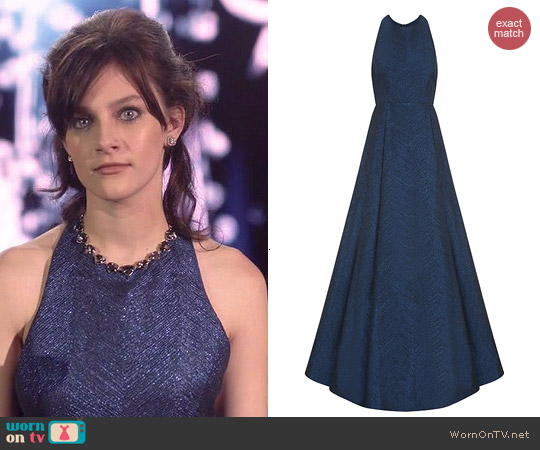 Alice + Olivia Teifer Gown worn by Aubrey Peeples on Nashville