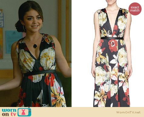 Alice & Olivia Triss Maxi Dress worn by Sarah Hyland on Modern Family