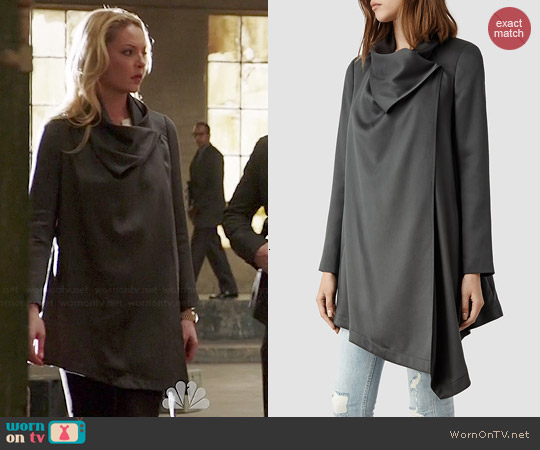 All Saints Aiko Monument Coat worn by Katherine Heigl on State of Affairs
