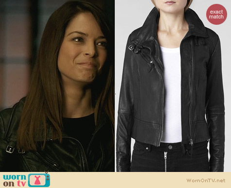 All Saints Belvedere Jacket worn by Kristin Kreuk on Beauty and the Beast