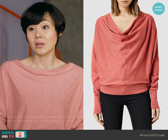 All Saints Elgar Sweater worn by Yunjin Kim on Mistresses
