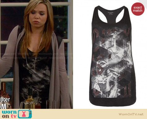 All Saints Folds Vest worn by Amanda Fuller on Last Man Standing