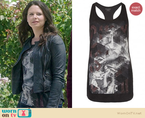 All Saints Folds Vest worn by Katie Lowes on Scandal