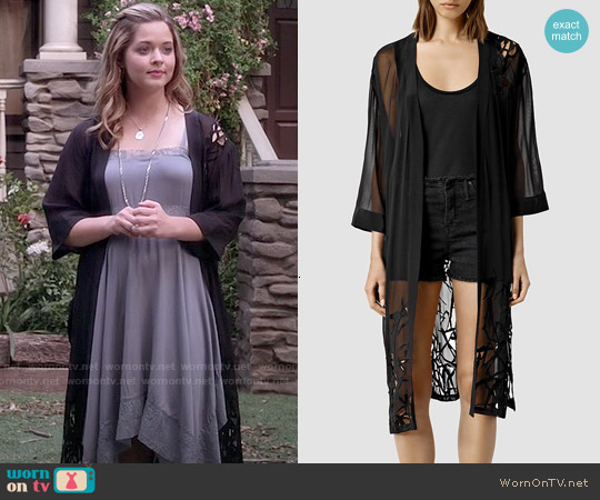 All Saints Iree Kimono worn by Alison DiLaurentis on PLL