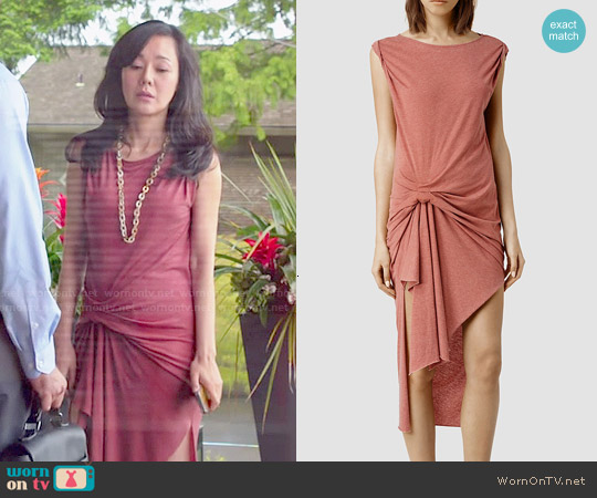 All Saints Riviera Devo Dress worn by Yunjin Kim on Mistresses