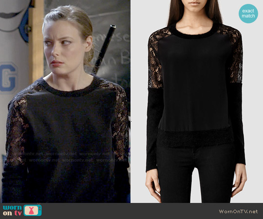 All Saints Taya Sweater worn by Gillian Jacobs on Community