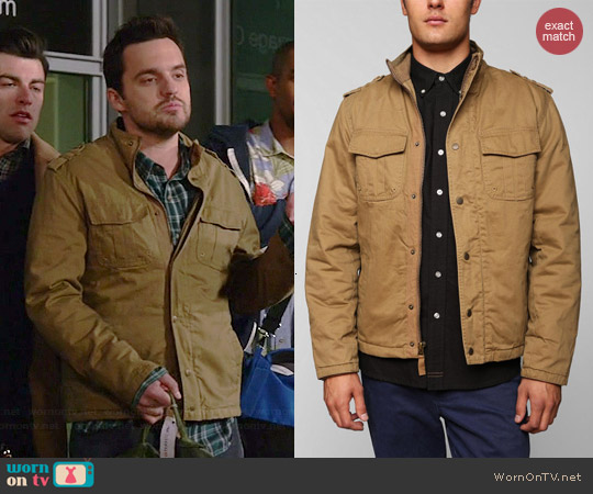 All-Son New Valley Military Jacket worn by Nick Miller on New Girl