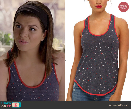 Alternative American Dot Tank worn by Casey Wilson on Marry Me