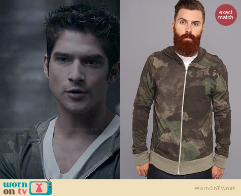 Alternative Eco Camo Dreamstate Hoodie worn by Tyler Posey on Teen Wolf
