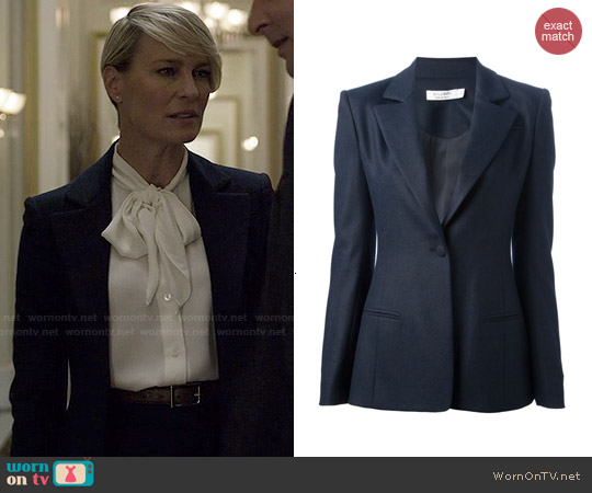 Altuzarra Classic Blazer worn by Claire Underwood on House of Cards