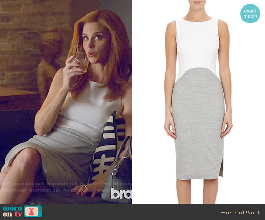 Altuzarra Shadow Sheath worn by Sarah Rafferty on Suits