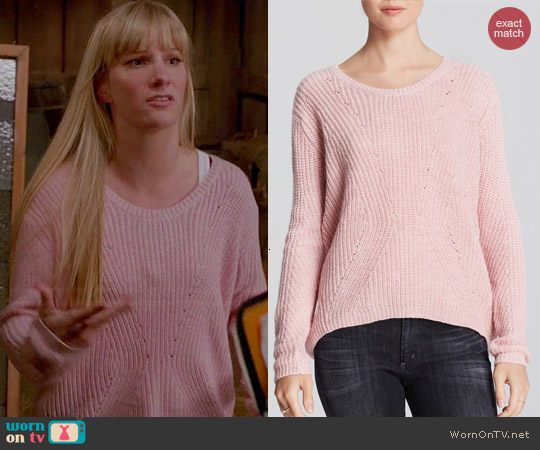 Alythea High Low Sweater worn by Brittany on Glee
